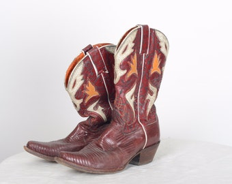 2812d94909948 1950s cowboy boots   Etsy