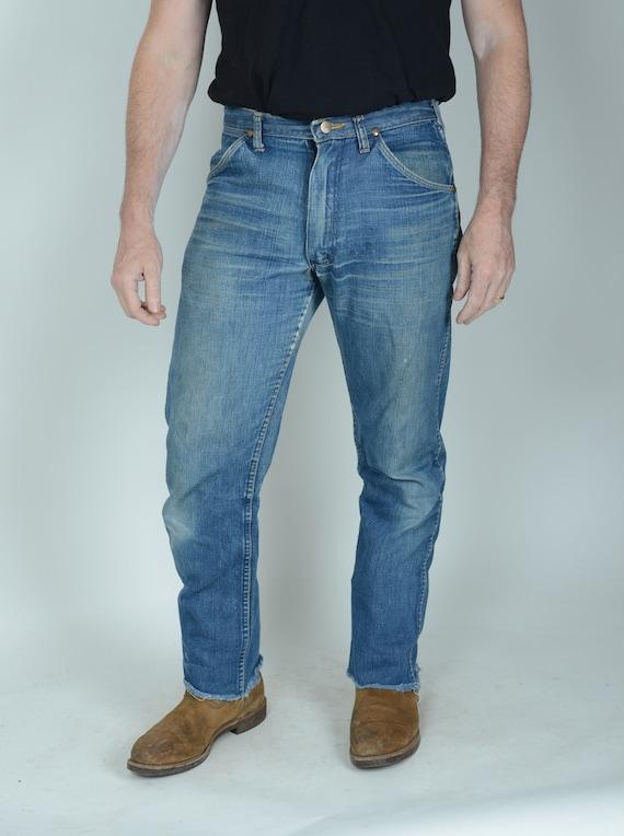 "1960s Maverick  bluebell jeans, western jeans, 32"""