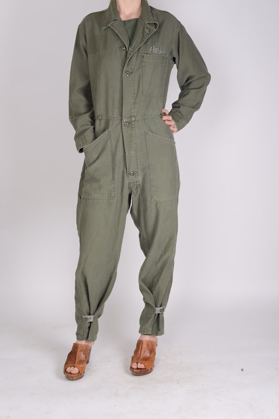 1970s U.S Army type 1 overalls, boiler suit, jumps