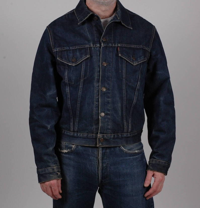 1940s, 1950s Schott A2 steer hide leather jacket, Schott biker jacket, L XL, True Vintage