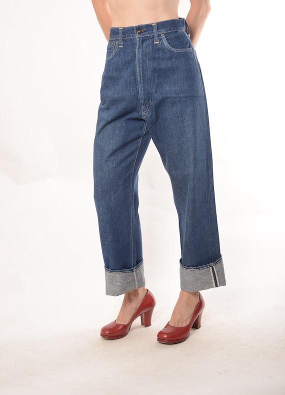 "1940s Levis 701xx  jeans, 27 1/2""waist, True Vinta"