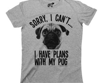 617047c91071b Sorry I Cant I Have Plans With My Pomeranian Dog T-Shirt Mens | Etsy