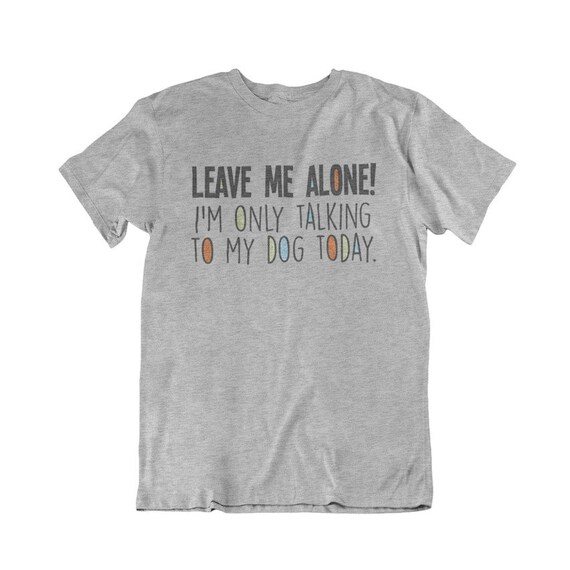 Leave Me Alone I/'m Only Talking To My French Bulldog Kids Unisex Hoodie