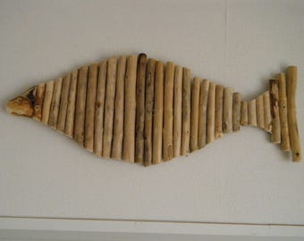 fish drift wood pieces
