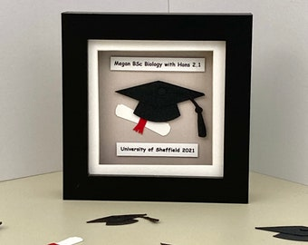 Personalised graduation gift, Gift for graduation day, keepsake for graduation day, Graduation gift for her, Graduation gift for him