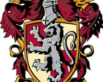 Amazing Gryffindor Crest Edible Cake Topper Approx 8x11cm Can Be Made Smaller To  Your Requirements