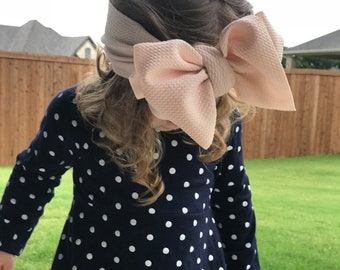 Bumblebee Blush Headwrap