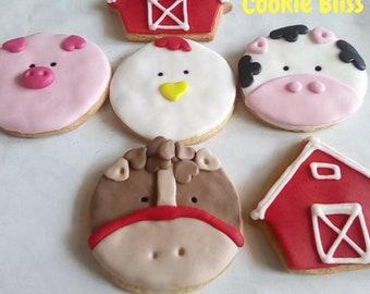 Pig Cookies Etsy