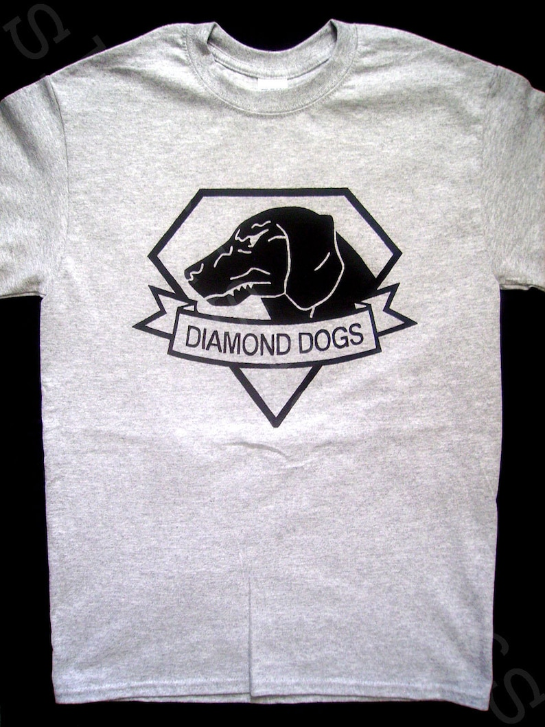 62171281edfec Metal Gear Solid Diamond Dogs T SHIRT metal gear solid v