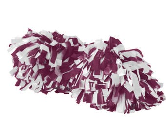 Cheerleader Spirit Pom , Girls Cheer Poms, School Spirit, Custom Design Tees, Poms pom poms | Etsy