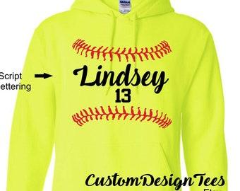 7b031942 Softball Hoodie, Softball Team Hoodie, Baseball Hoodie, Custom Design Tees,  Baseball Team Hoodie, Softball, Baseball, Softball Mom Dad Tee