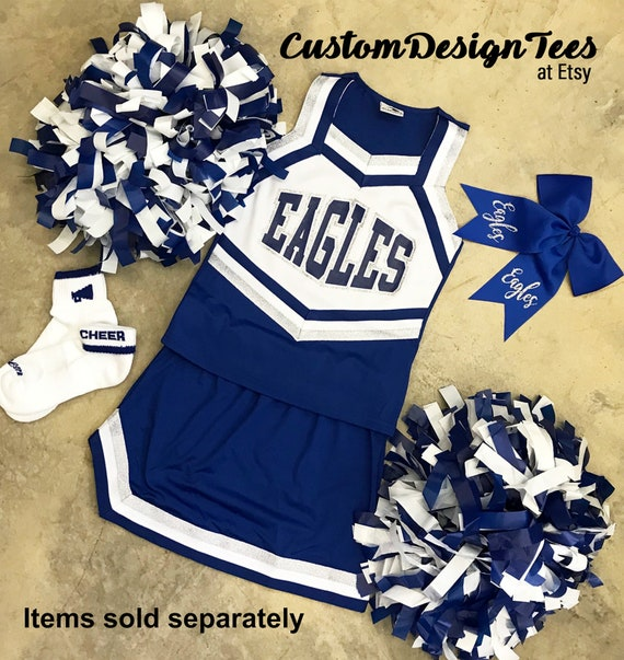 aa968e0b Cheerleader Uniforms , Girls Cheer Uniforms, School Spirit, Ladies Cheer,  Custom Design Tees, Girls Cheer Tops, School Spirit Uniforms