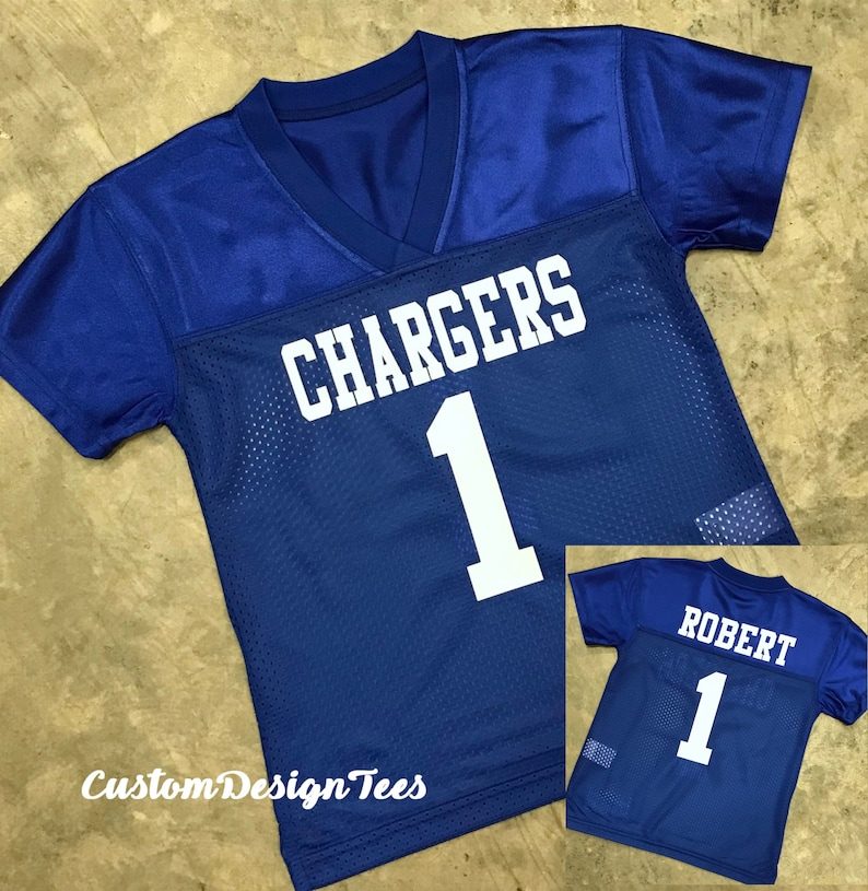 913cbef75a4 Custom Football Jersey Youth Football Jersey Toddler | Etsy