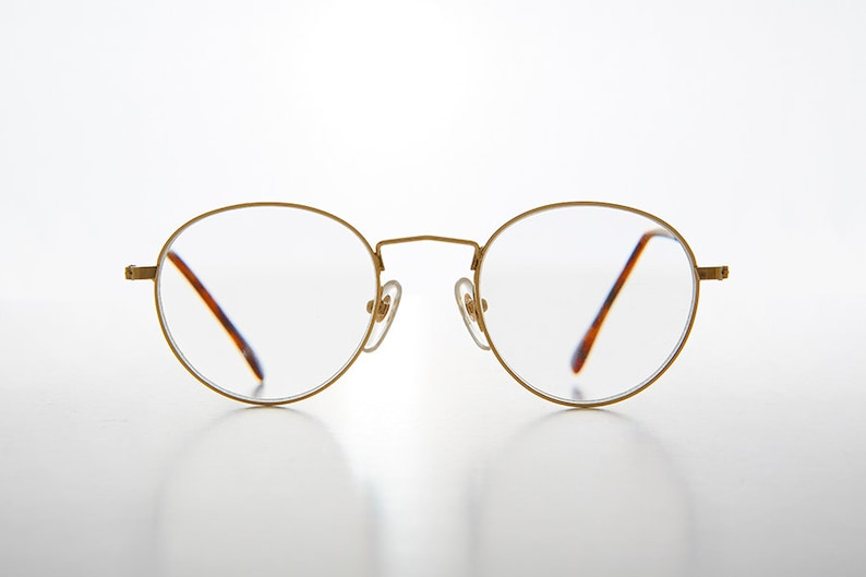 5d81551fde Gold Round Reading Glasses   Polo Shape  1.50   1.75   2.25