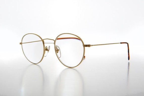 round metal reading glasses