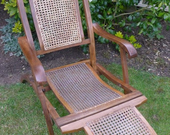 Antique Steamer Chair (early 20th Century)
