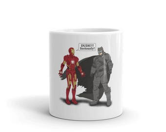 Iron(bat)man Mug