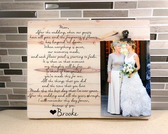 Mother Bride Frame Etsy