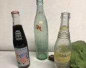 Vintage RC Cola Bottle - Vintage NuGrape Soda - Panama City Beach (Sold Separately)