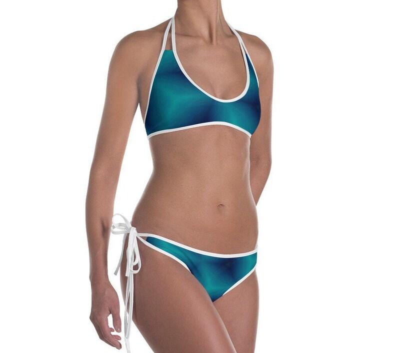 Bathing Suits Women/'s 2 Piece Reversible Bikini Set Beach Clothes Swimsuits