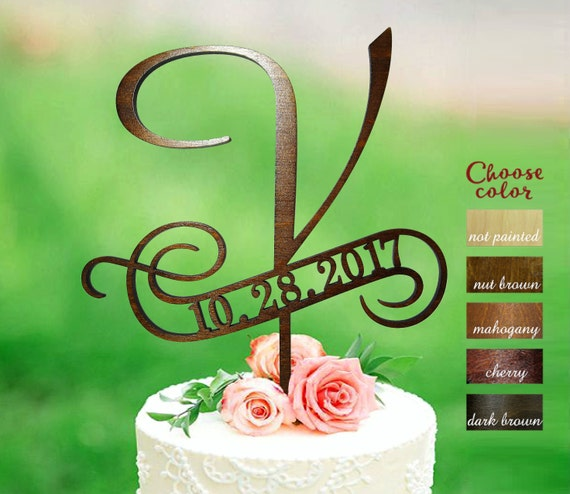 Icing Name Cake Topper Letters choose pink red white blue green yellow orange