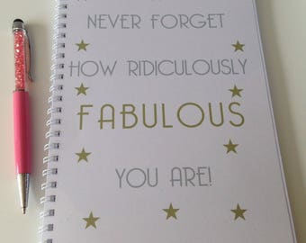 Slimming World Friendly - Food Diary - Food Planner - Diet Tracker - Food Log - 8 Week / 12 Week Planner - Ridiculously Fabulous