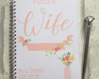 Slimming World Friendly - Food Planner Diary - Diet Tracker - Food Log - 8 Week / 12 Week Planner - Future Wife - Personalised