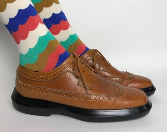 1130751b34 RARE/Vintage TODS chaussures/90 s plate-forme Oxford Chaussures femmes/90 s  chaussures Chunky