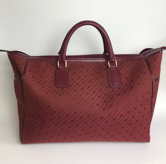 80s Pierre Cardin duffel bag / 80s designer's duff