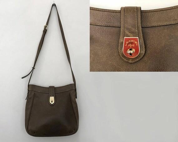 3e2d218e8e28 Vintage Lancel bag   vintage crossbody bags   lancel vintage