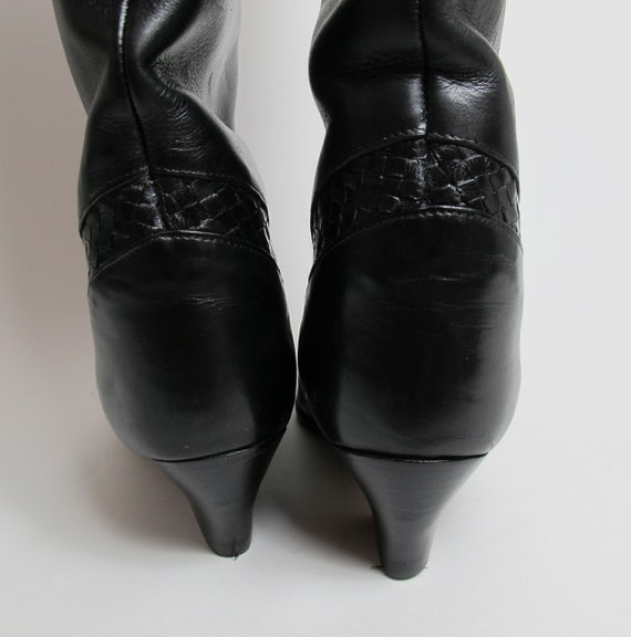 Stephane Kelian boots / 80s almond toe boots / 80… - image 6