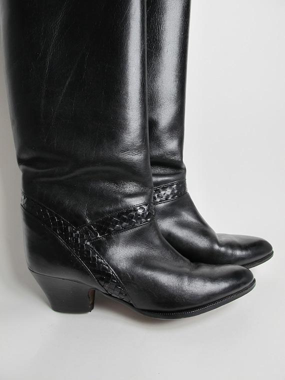 Stephane Kelian boots / 80s almond toe boots / 80… - image 7