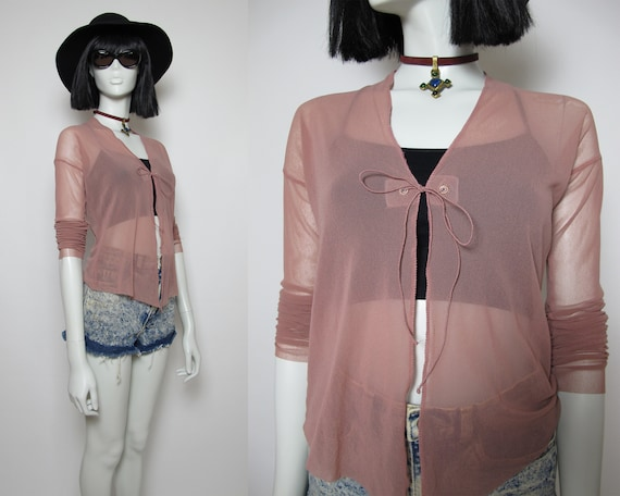 RARE / JPG mesh top / 90s Jean Paul Gaultier top /