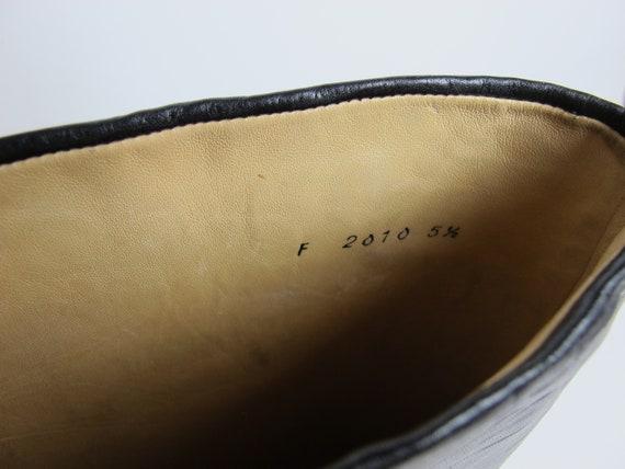 Stephane Kelian boots / 80s almond toe boots / 80… - image 9