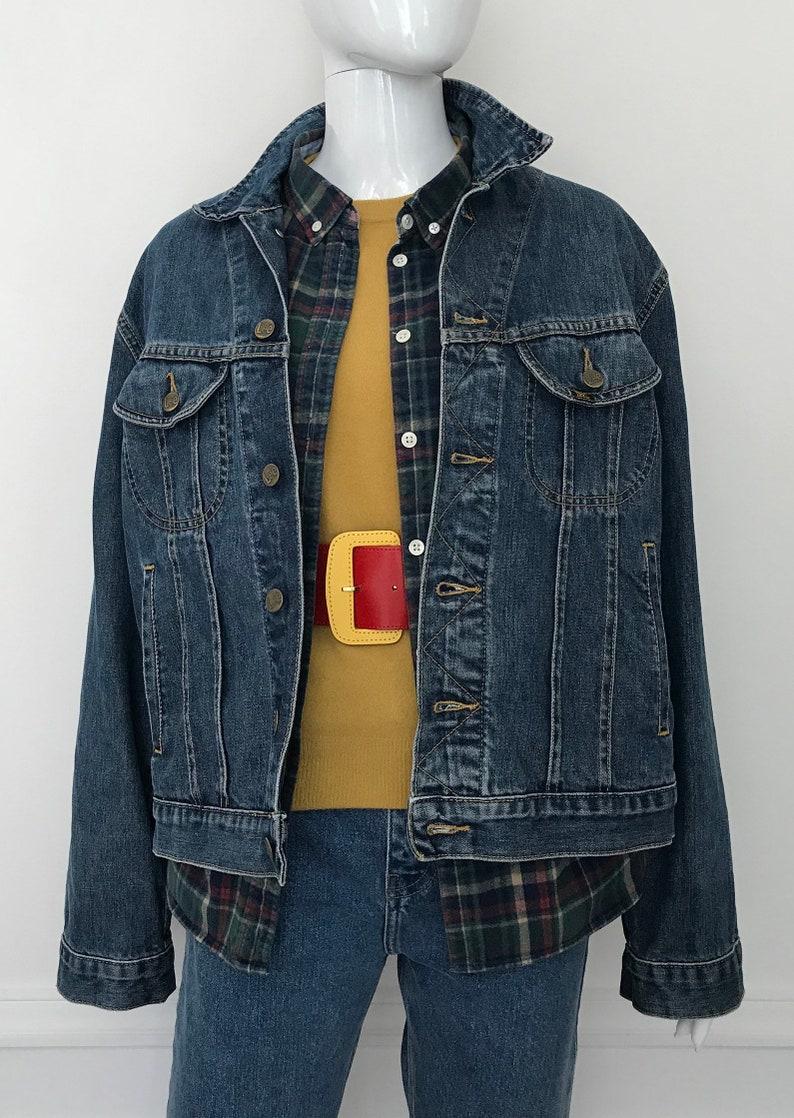 51217ca2 Vintage Lee / Lee denim trucker / 90s denim jacket M/ vintage | Etsy