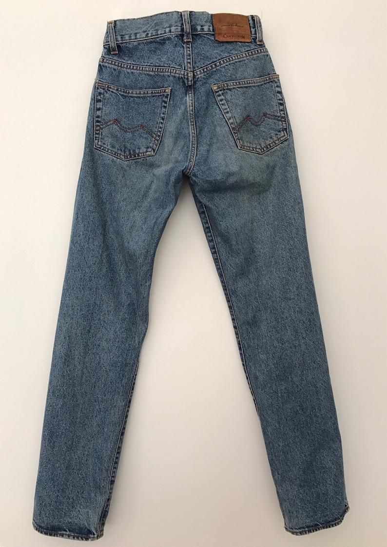 026e8aa94e2 Chevignon   90s light wash jeans   90s high waisted jeans