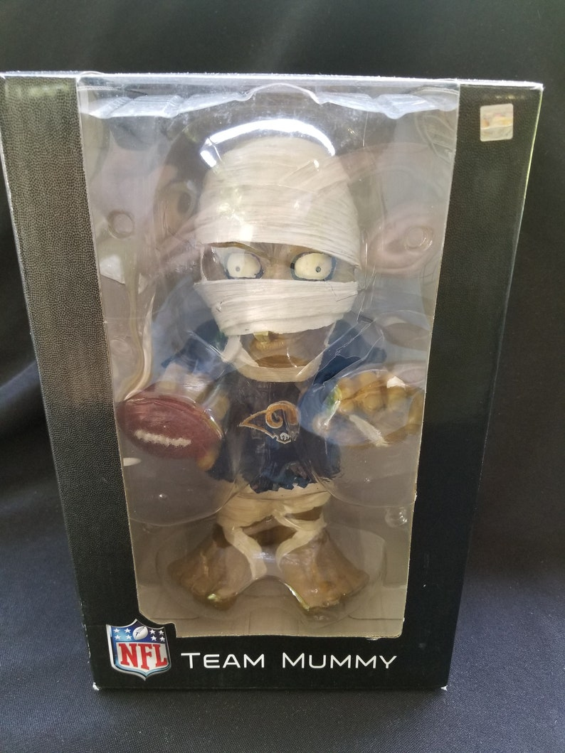 2dd6fb7e93a New NFL St. Louis Rams 9 Team Mummy Forever Collectibles