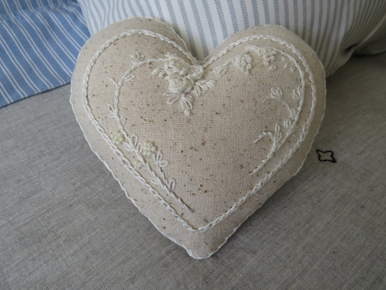 Silk Ribbon Heart Kit image 0