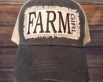 09af39200cb Farm trucker hat
