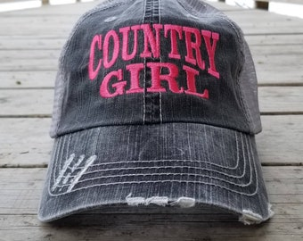 Country girl hat  5cd089dee1ad