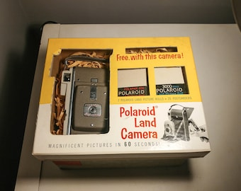 POLAROID Land Camera Vintage MODEL 80B Folding Style
