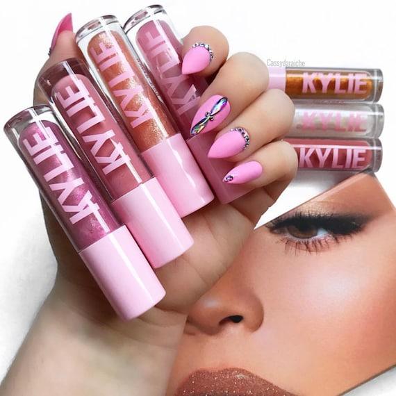 Bubblegum Bling Press on Nails Acrylic Nails Nail Art fake | Etsy