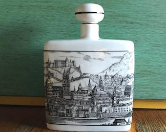 Porcelain Decanter Western Germany, Salzburg Decanter