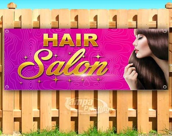Salon Banner Design Etsy