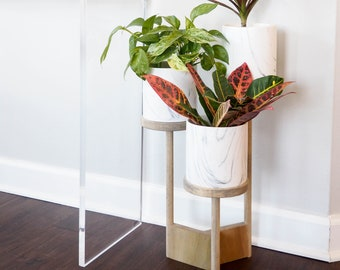 Indoor plant stand | Etsy