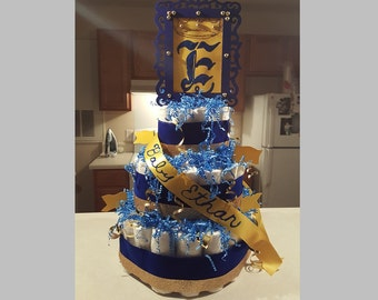 Royalty Baby Blues Diaper Cake