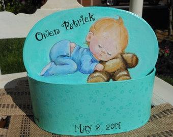 Baby Boy's memory box