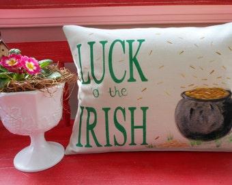 Luck o' the Irish Pillow Case