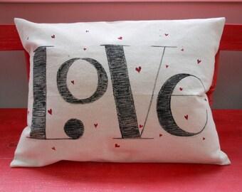 Love Valentine Pillow case