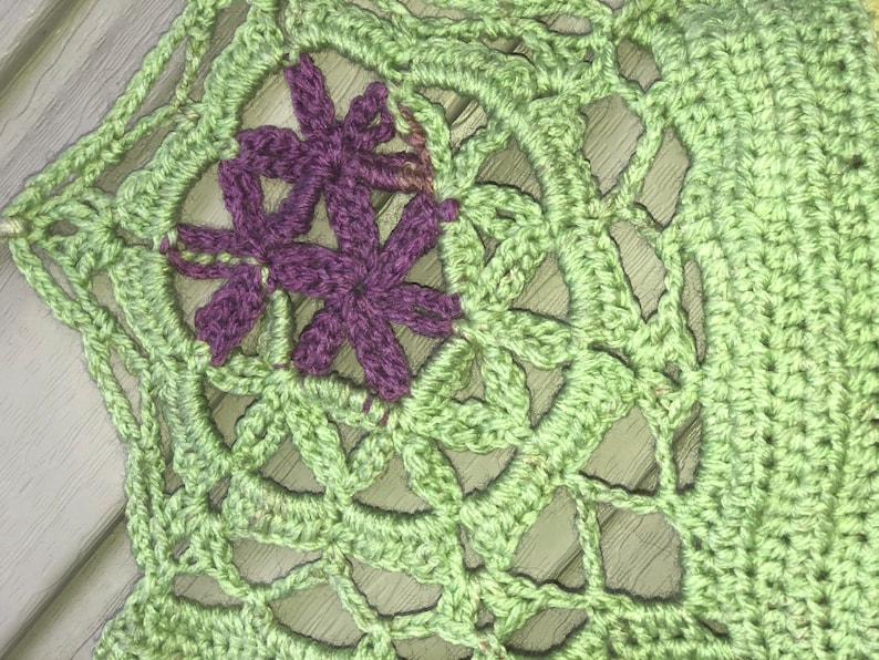 Flower of Life Crop Top